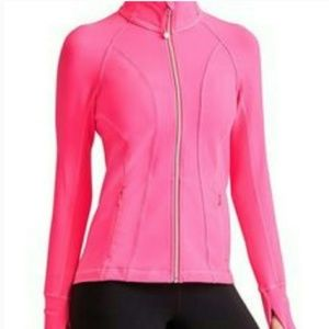 ATHLETA hot pink Hope jacket M